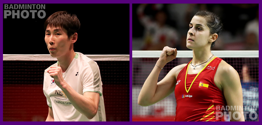 Former singles world #1s Carolina Marin and Son Wan Ho have both been in the news and on social media this week, talking about their prospects for returning to the […]