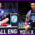 Besides the many commonalities they share with respect to their achievements, Malaysian veteran Lee Chong Wei and current world #1 Tai Tzu Ying also share a common thread when it […]