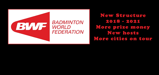 Today, almost exactly 10 years after the kick-off of the Superseries era, the BWF unveiled its new structure of tournaments for the years 2018-2021. China, England and Indonesia will host […]